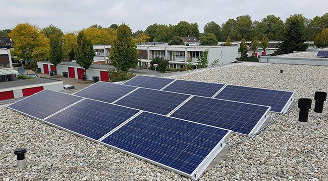 vergunning nodig voor zonnepanelen op dak